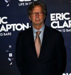 eric clapton  at the premiere of eric clapton in 12 bars  bfi south bank london 10/1/18 .10/1/19 mike webster