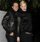 Ioan Gruffudd and Alice Evans seen at Chateau Marmont in LA