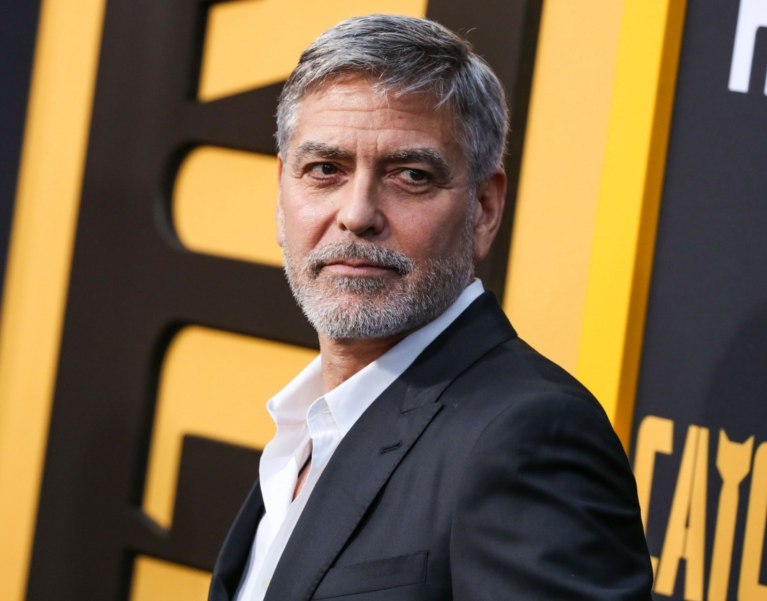 Actor George Clooney arrives at the Los Angeles Premiere Of Hulu's 'Catch-22' held at the TCL Chinese Theatre IMAX on May 7, 2019 in Hollywood, Los Angeles, California, United States. (Photo by Xavier Collin/Image Press Agency)