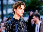 Timothee Chalamet poses on the red carpet at the London Film Festival: The King - American Airlines Gala on Thursday 3 October 2019