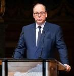 Prince Albert II of Monaco attends the Monaco Blue Initiative.