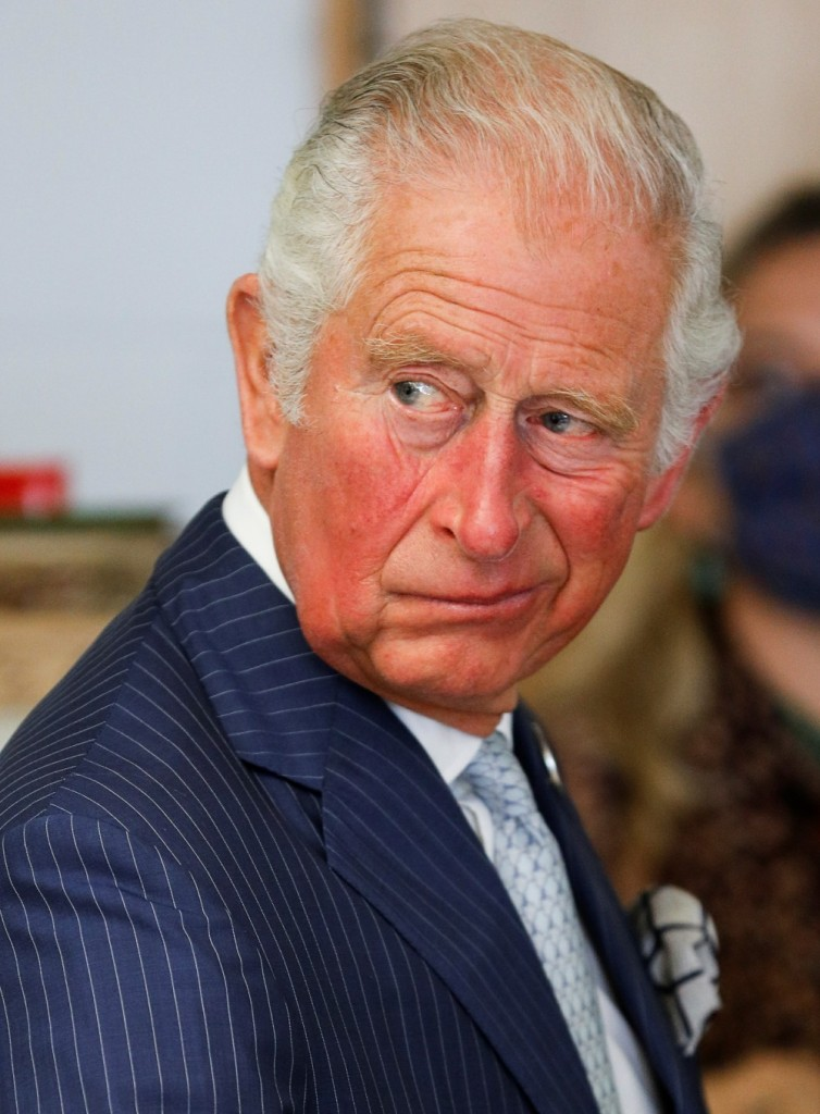 Britain's Prince Charles visits Royal Botanic Gardens in Kew in London