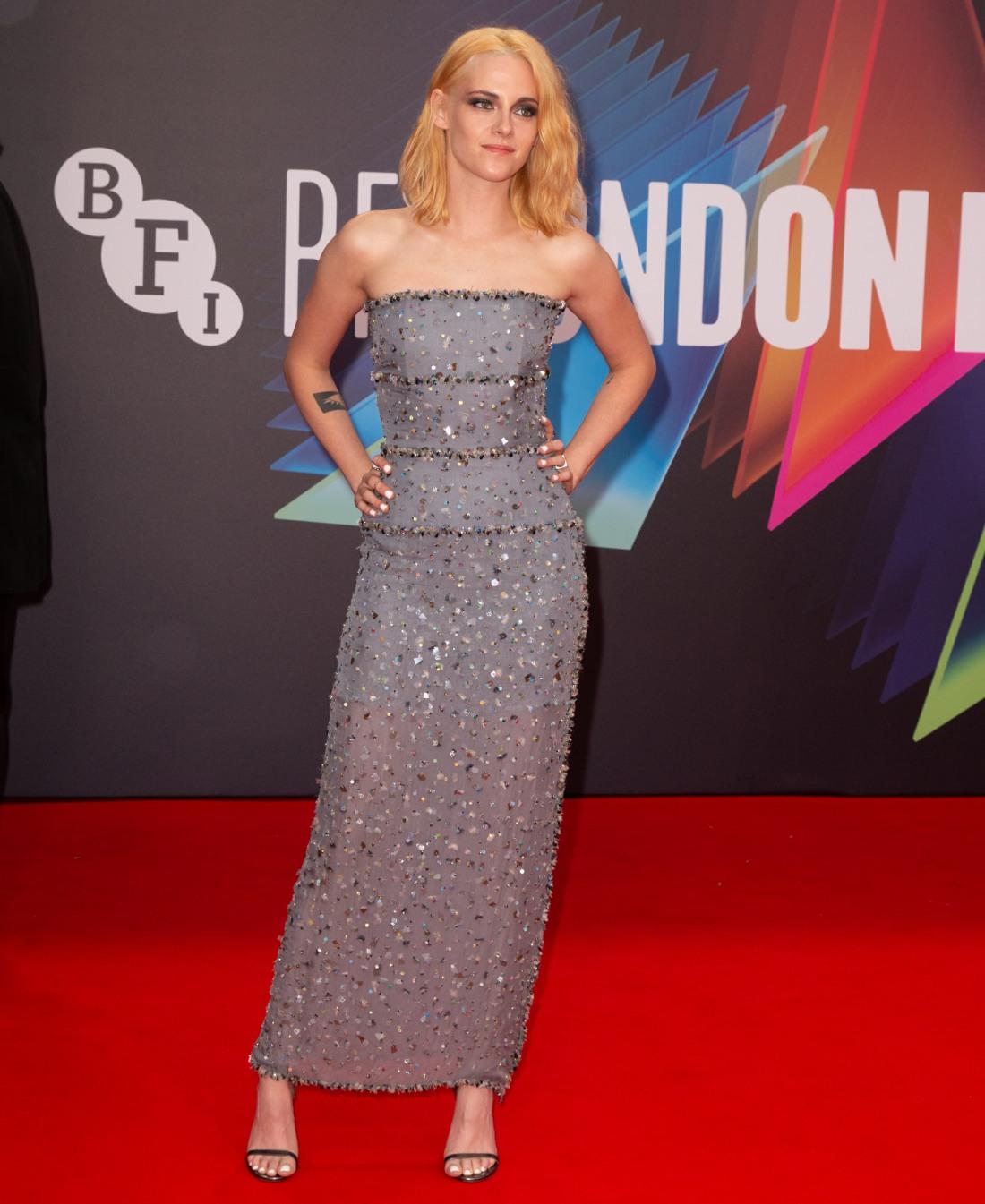 The BFI 65th London Film Festival Headline Gala of 'Spencer' held at the Royal Festival Hall
