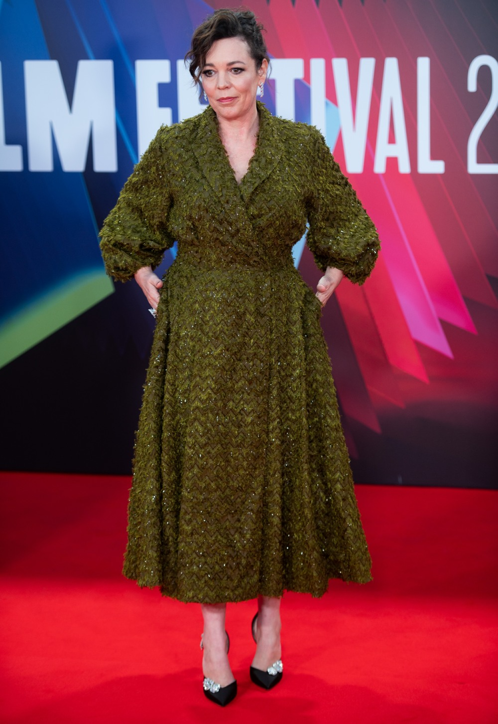 London Film Festival 2021 - The Lost Daugter UK Premiere Arrivals at Royal Festival Hall, Southbank Centre, London