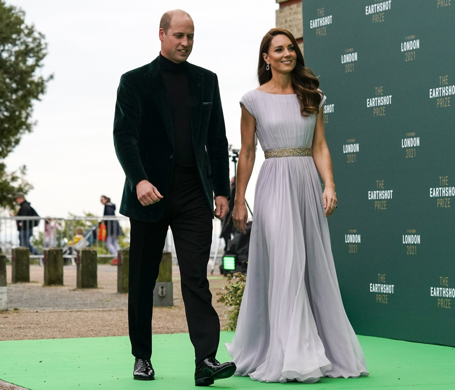 The Cambridges attend the Earthshot Prize Awards