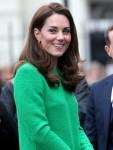 Catherine, Duchess of Cambridge visits Lavender Primary School